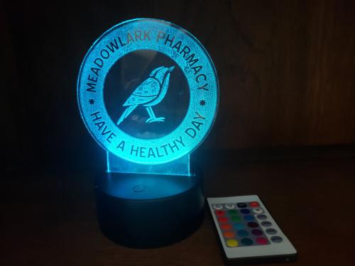 Custom Illuminate Plaque