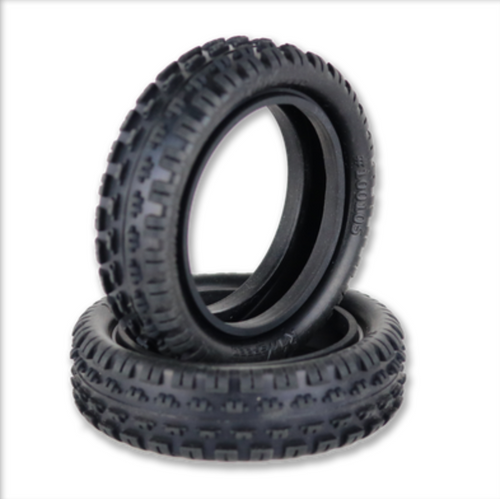 "Incisor - 2.2"" 2WD Front Buggy Carpet Tire (1 pr)"