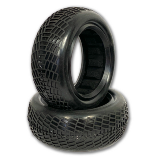 "Radar - 2WD Front Buggy Tires w/Inserts 2.2"" (1 pr)"