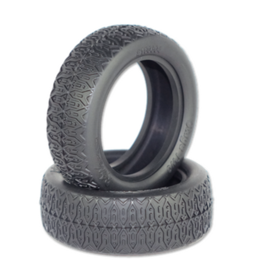 "Stage Two - 2WD Front Buggy Tires w/Inserts 2.2"" (1 pr)"
