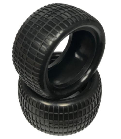 "Waffle - Rear Buggy Tires w/Inserts 2.2"" (1 pr)"