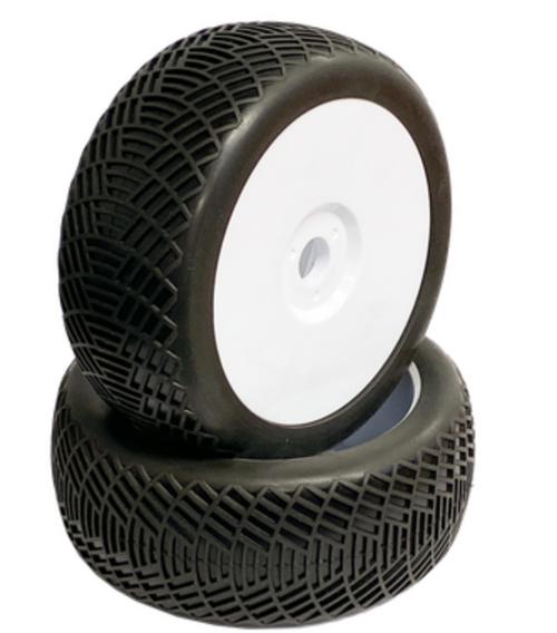 Radar - 1/8 Buggy Tires w/Inserts (1 pr)