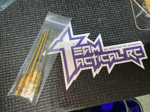TTRC Titanium Speed Bits - Metric