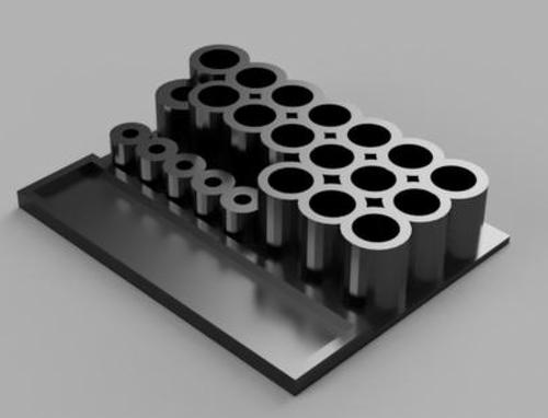 TTRC Brand Tool Rack - Holds Full Set