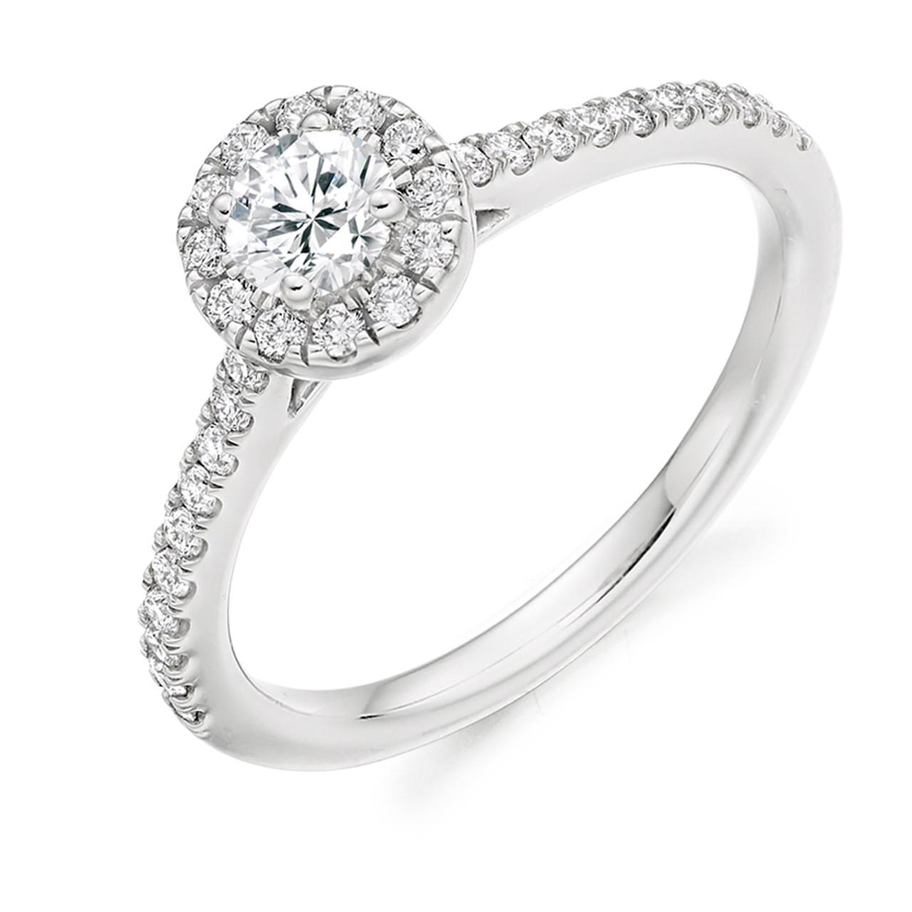 Iris 0.25ct Diamond Engagement Ring