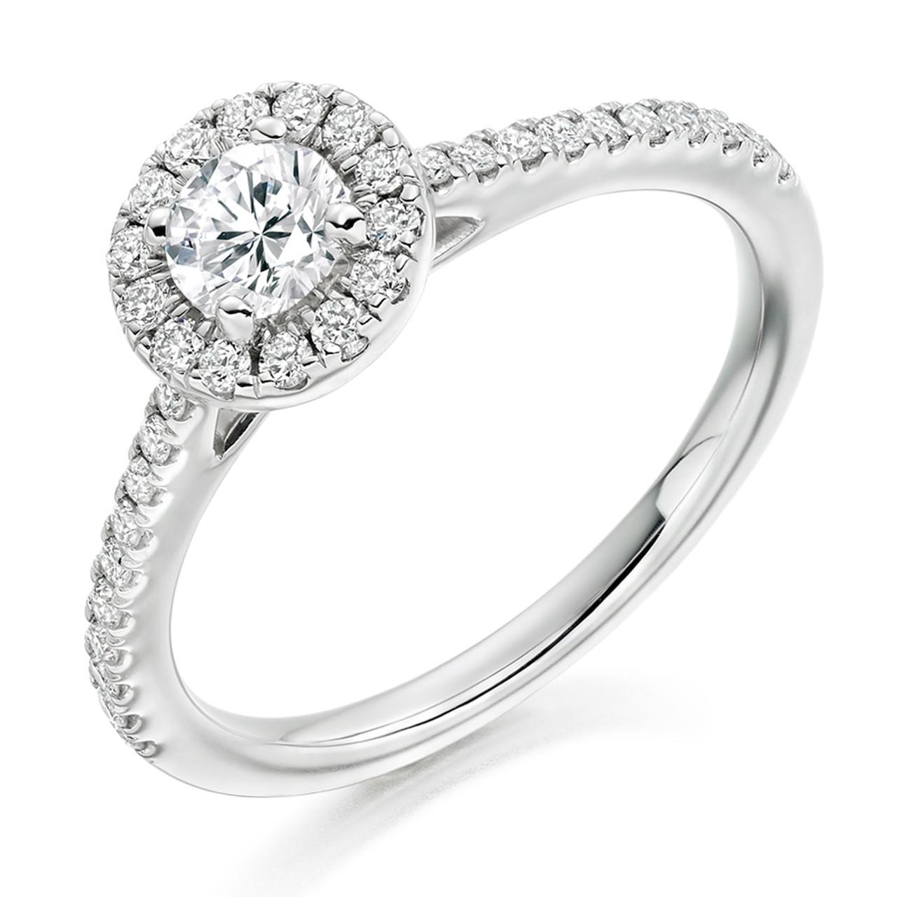 Iris 0.30ct Diamond Engagement Ring