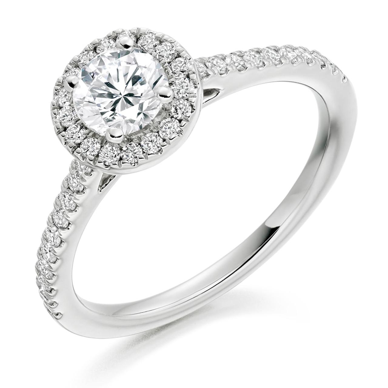 Iris 0.50ct Diamond Engagement Ring