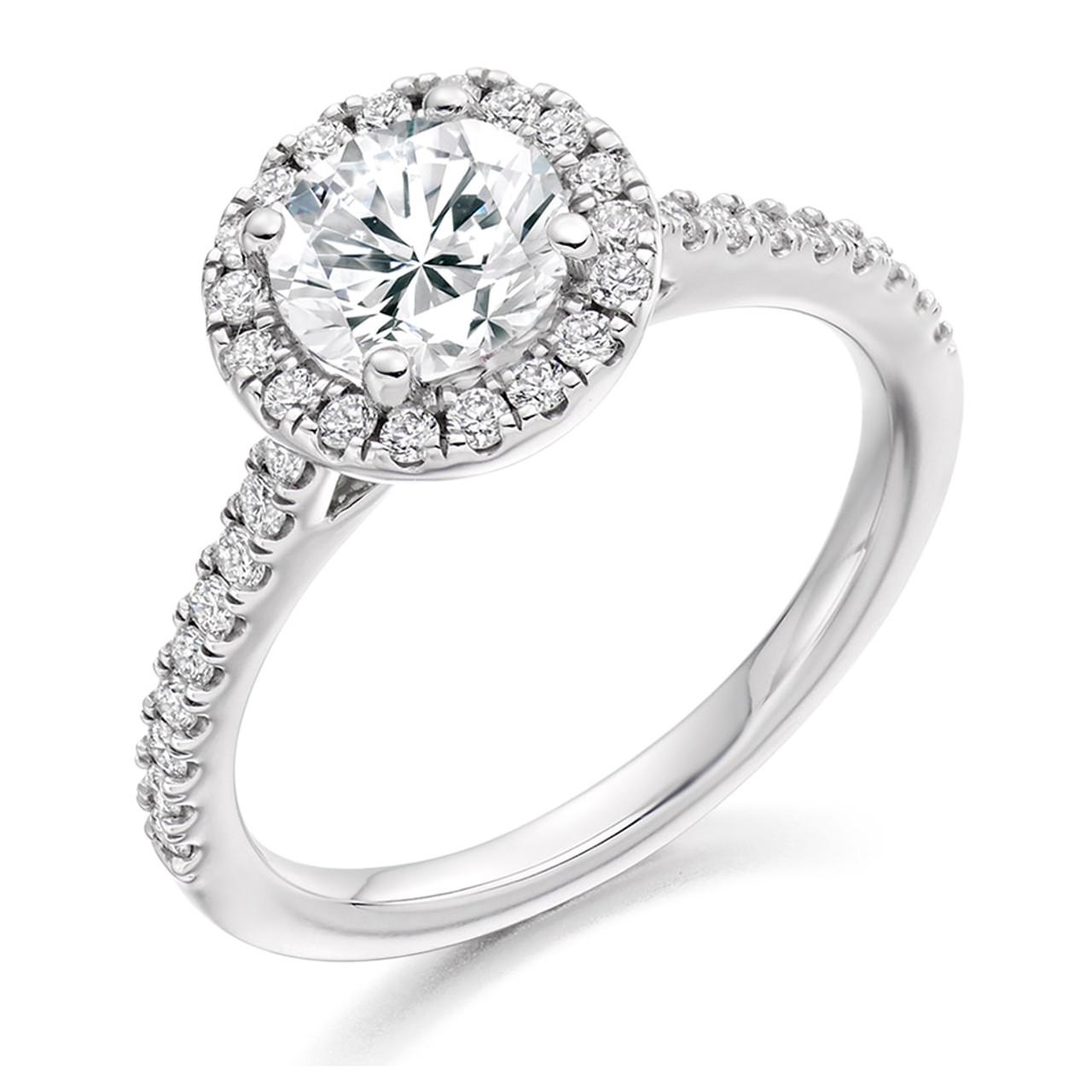 Iris 0.70ct Diamond Engagement Ring