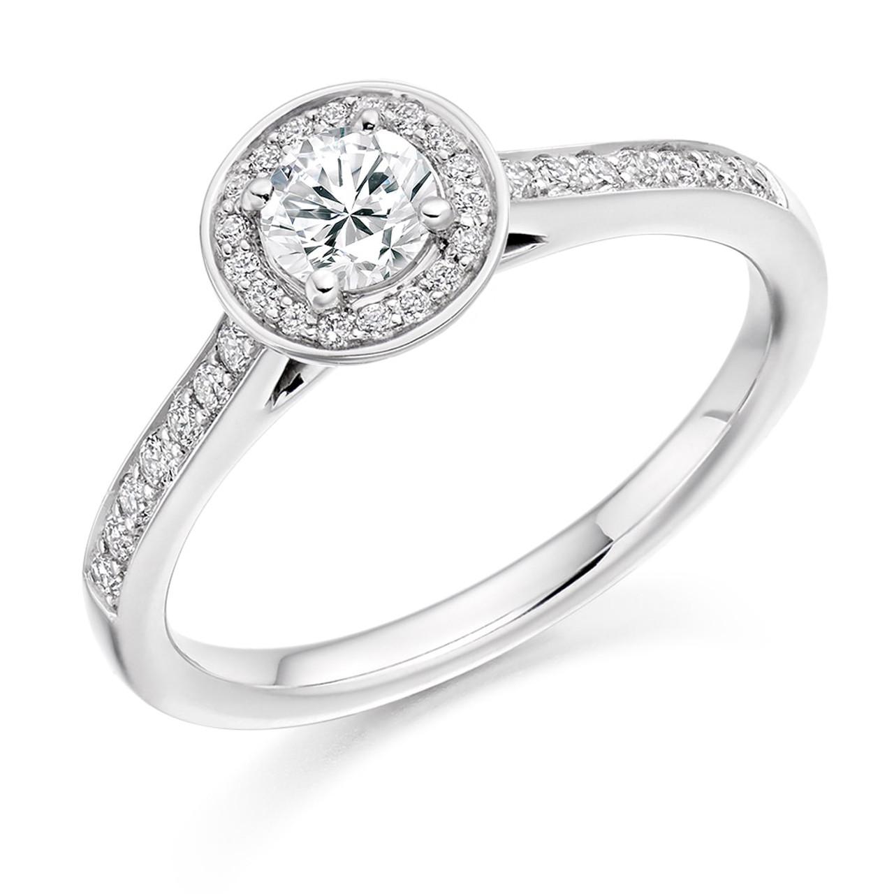 Buckthorn 0.30ct Diamond Engagement Ring
