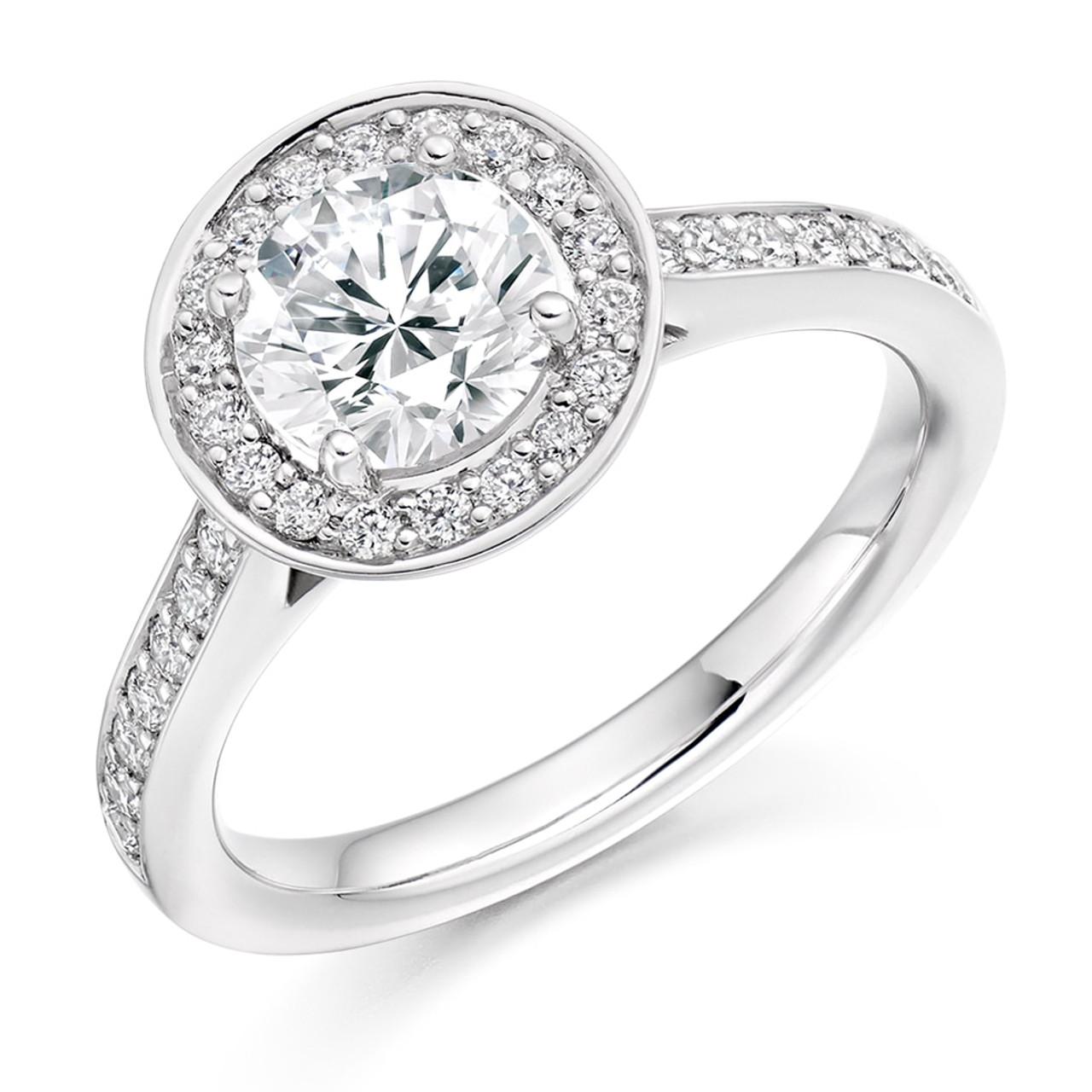 Buckthorn 1.00ct Diamond Engagement Ring