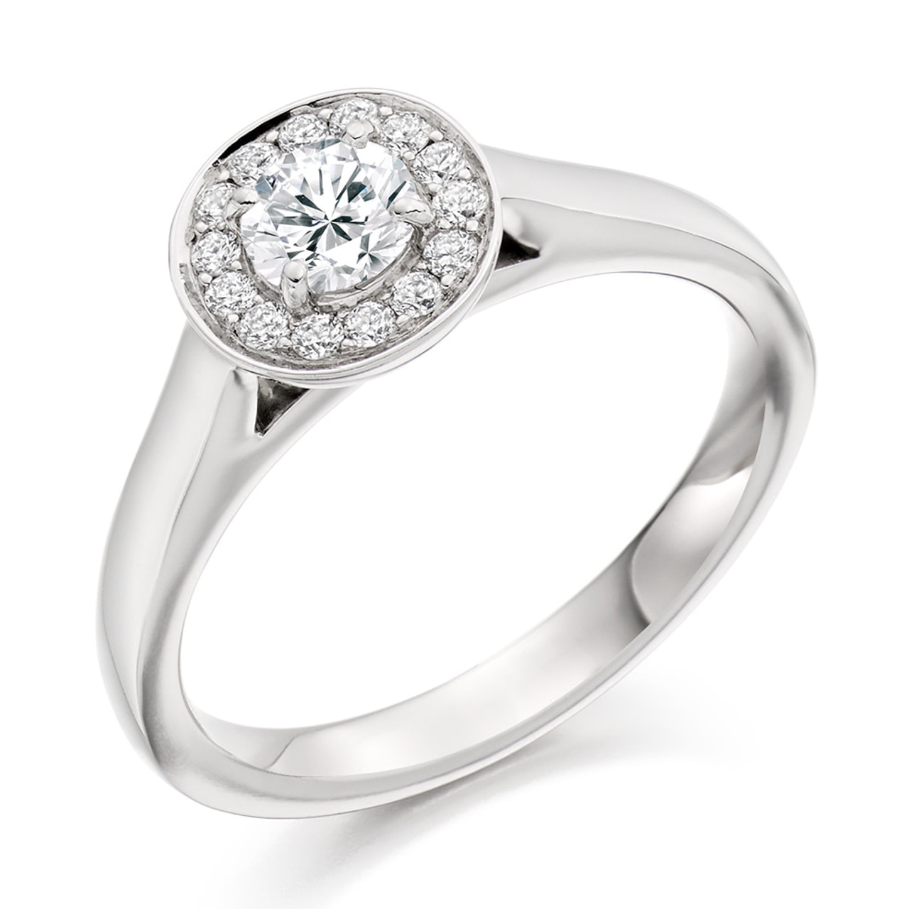Elderberry 0.30ct Diamond Engagement Ring