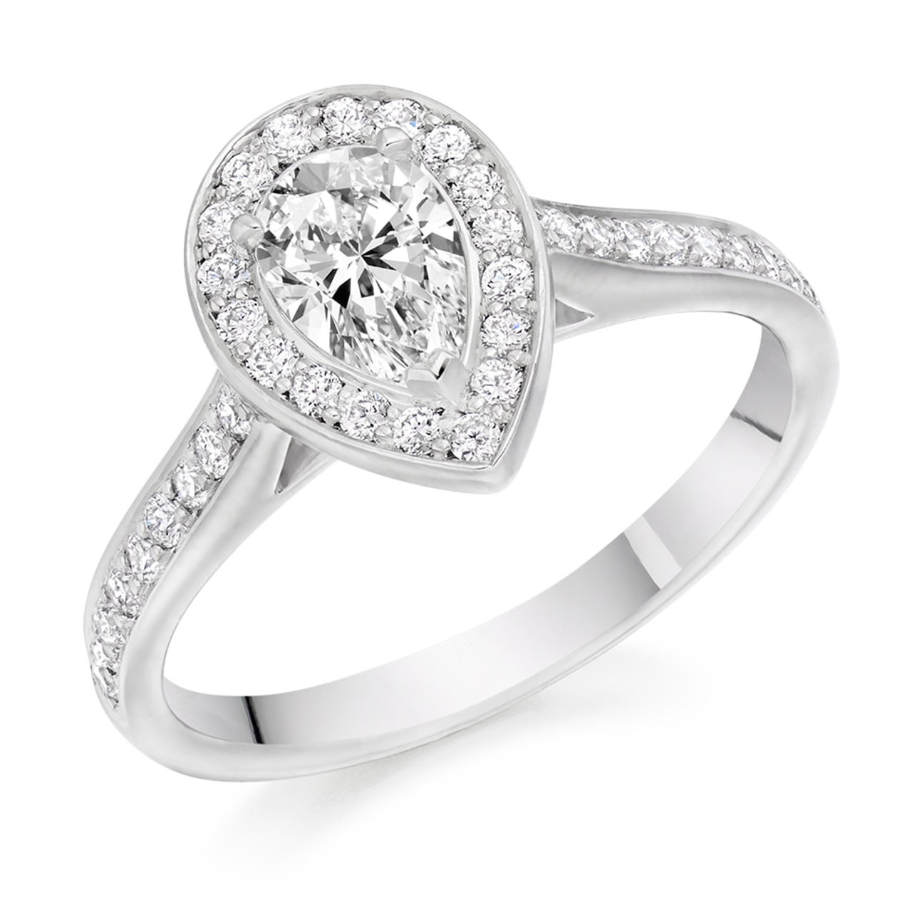 Foxglove 0.50ct Diamond Engagement Ring