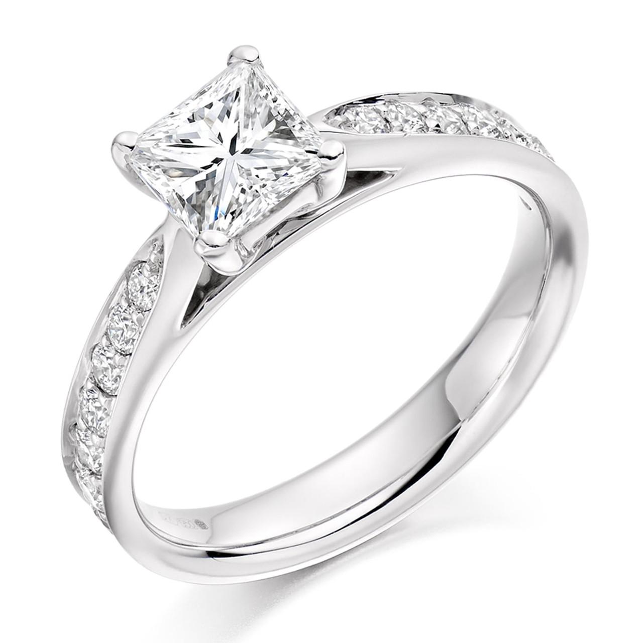 Lilac 0.70ct Diamond Engagement Ring