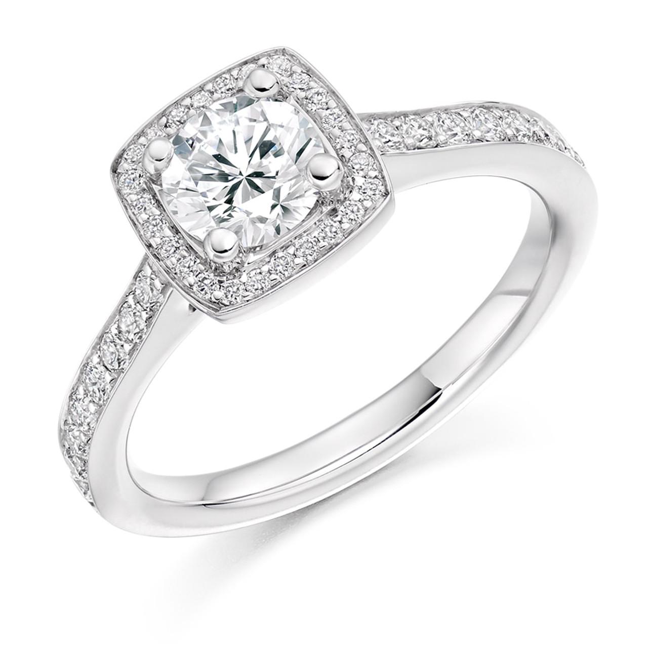 Harebell 0.30ct Diamond Engagement Ring