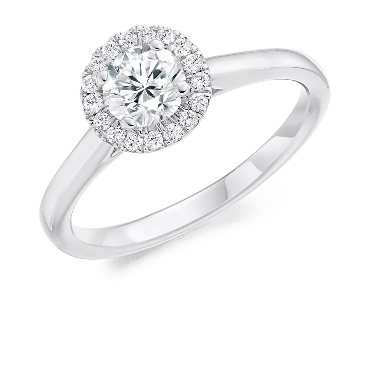 Primrose 0.50ct Diamond Engagement Ring