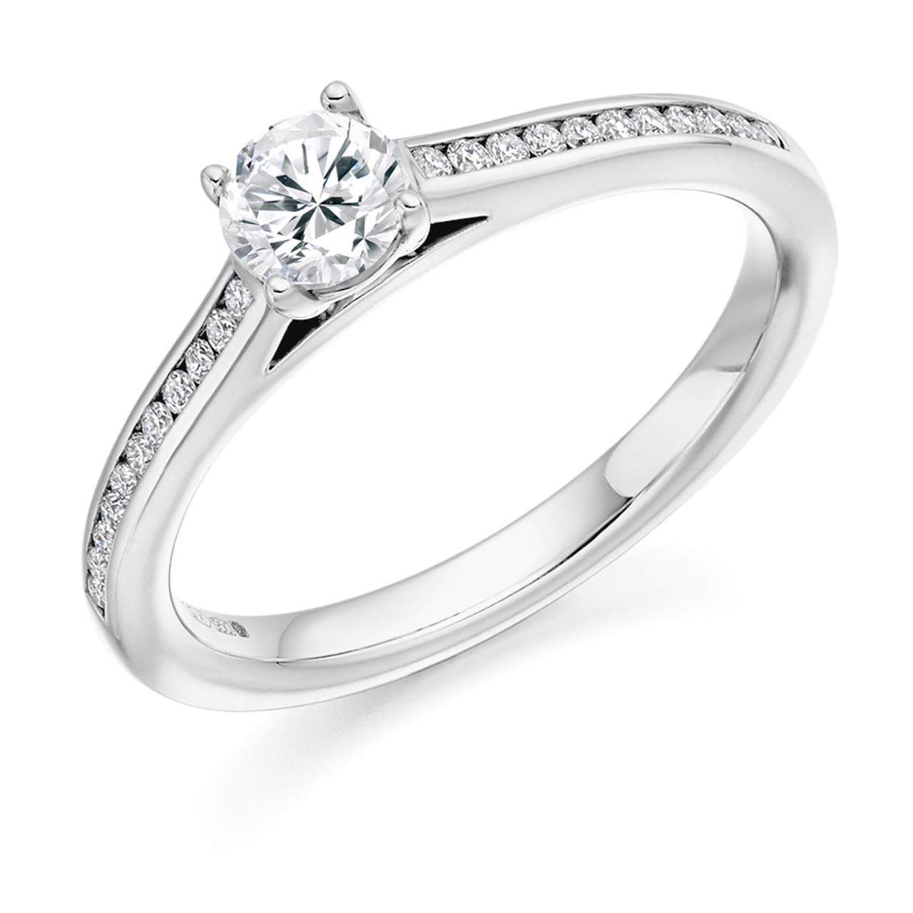 Hawthorn 0.30ct Diamond Engagement Ring