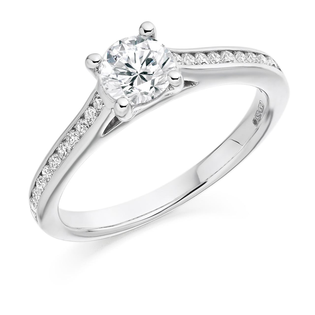 Hawthorn 0.50ct Diamond Engagement Ring