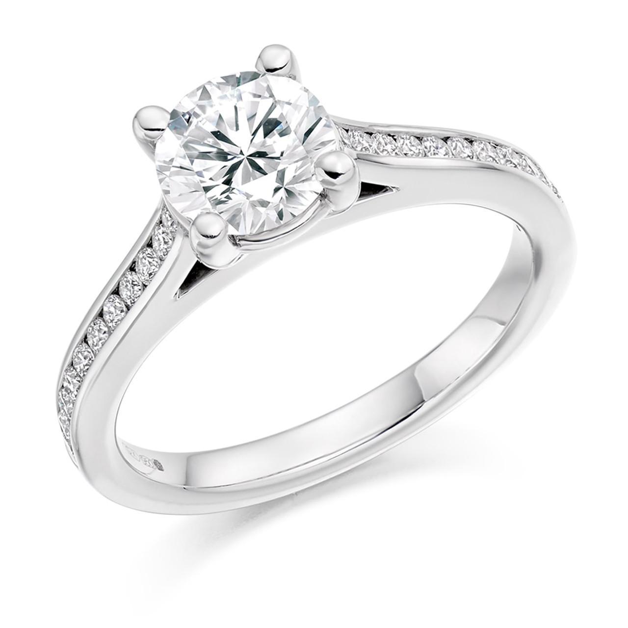Hawthorn 1.00ct Diamond Engagement Ring