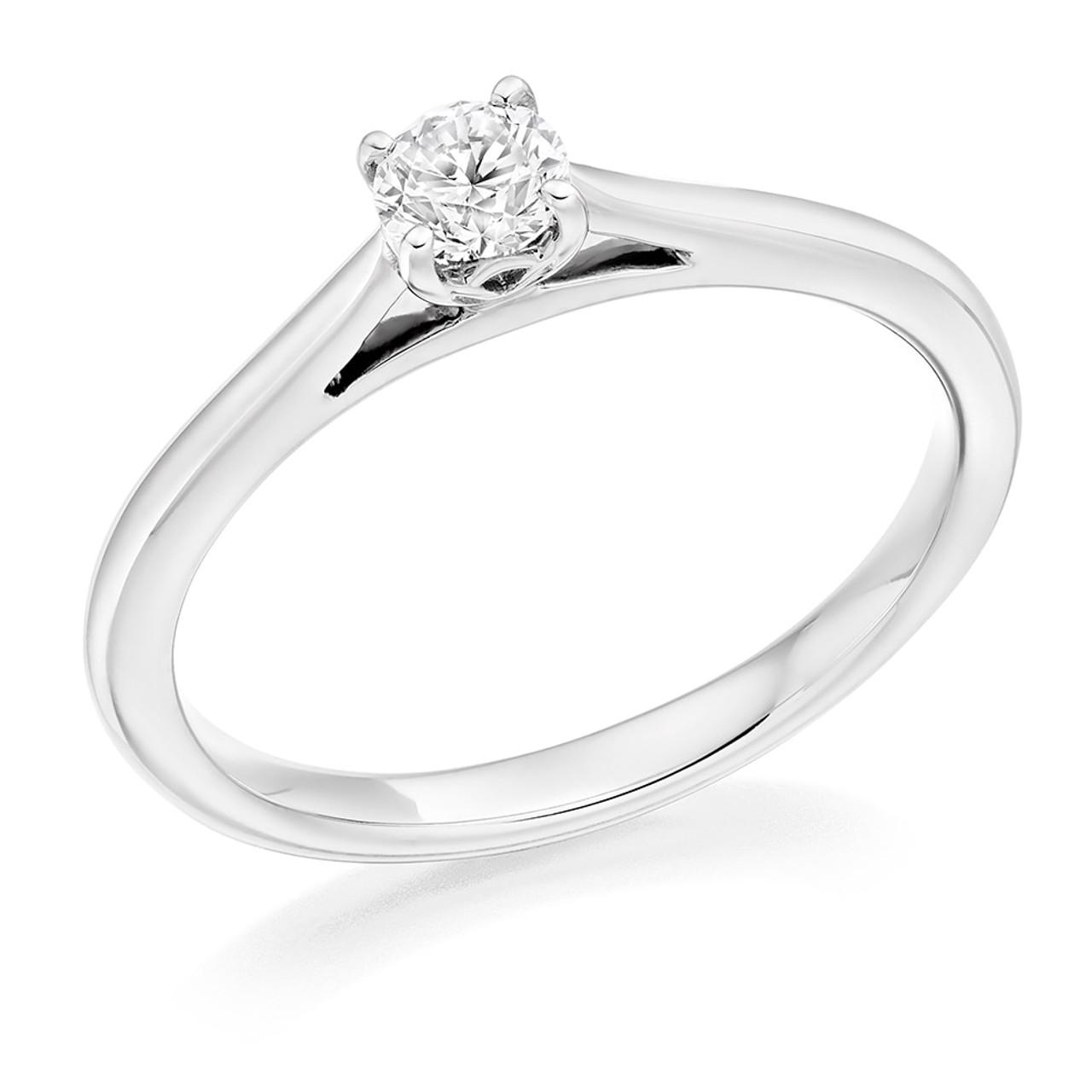 Daisy 0.25ct Diamond Engagement Ring