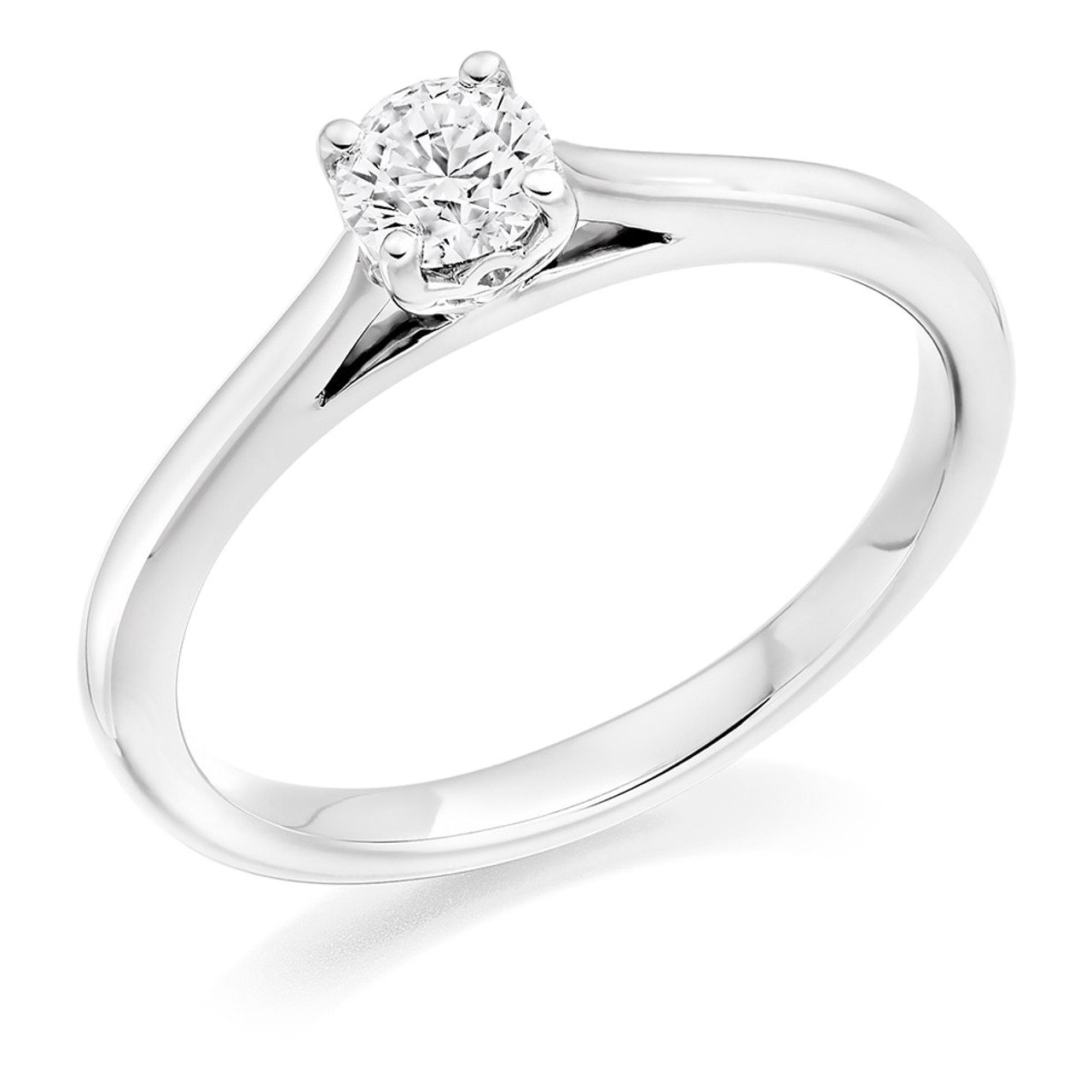 Daisy 0.30ct Diamond Engagement Ring