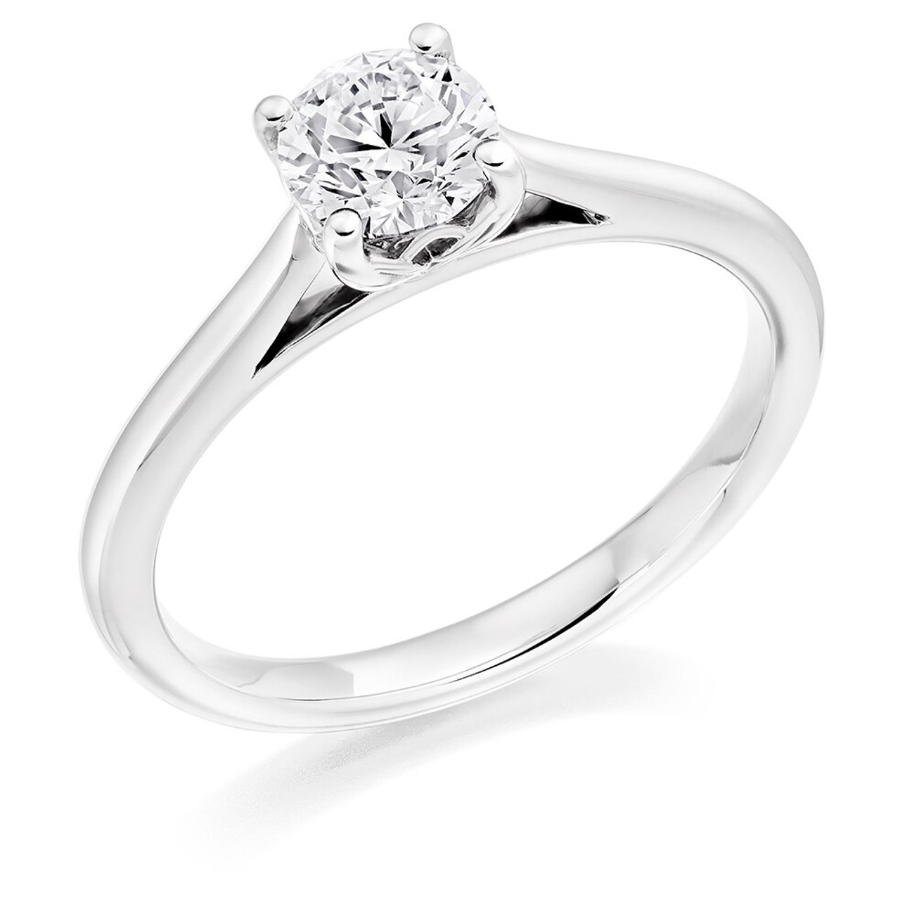 Daisy 0.50ct Diamond Engagement Ring