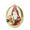 Vaillancourt Jingle Ball Ornament - Nürnberg A Rauschgoldengel Santa | The Shops at Colonial Williamsburg