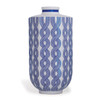 Evelyn Blue Large Vase | The Shops at Colonial Williamsburg