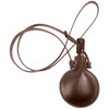 Small Round Leather Flask | The Shops at Colonial Williamsburg