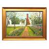 April Garden Framed Print