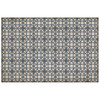 James Geddy Lamerie Lattice Floorcloth