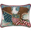 Eagle, Liberty and Justice Pillow