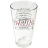 Toby's Triple Threads Pint Glass