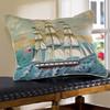 Ship at Full Sail Pillow