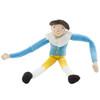 Blue and Yellow Mini Hotch Potch Velour Doll