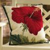 China Rose Hibiscus Pillow