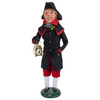 Byers' Choice Man with Black and Red Coat