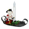 Byers' Choice Mr. Mouse with Fife and Candle Holder