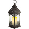 Arched Pane LED Lantern