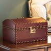 Wythe Leather Document Box