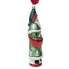Vaillancourt Jingle Ball Santa with Green Coat and Pinecones
