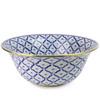 Brass Trimmed Pineapple Bowl