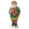 Vaillancourt Green Santa with Toys