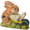 Vaillancourt Bunny with Lambs in Wheelbarrow