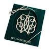 Palladium Silver CW Cypher Ornament
