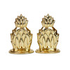 Pineapple Bookend Set