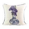 Iris Delft Vase Pillow