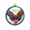 Vaillancourt  American Eagle Jingle Ball Ornament