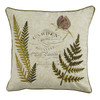 Botanical Garden Feather Pillow