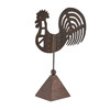 Folk Rooster On Stand