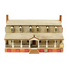 Christiana Campbell's Tavern Replica Laser-Cut Lighted Building